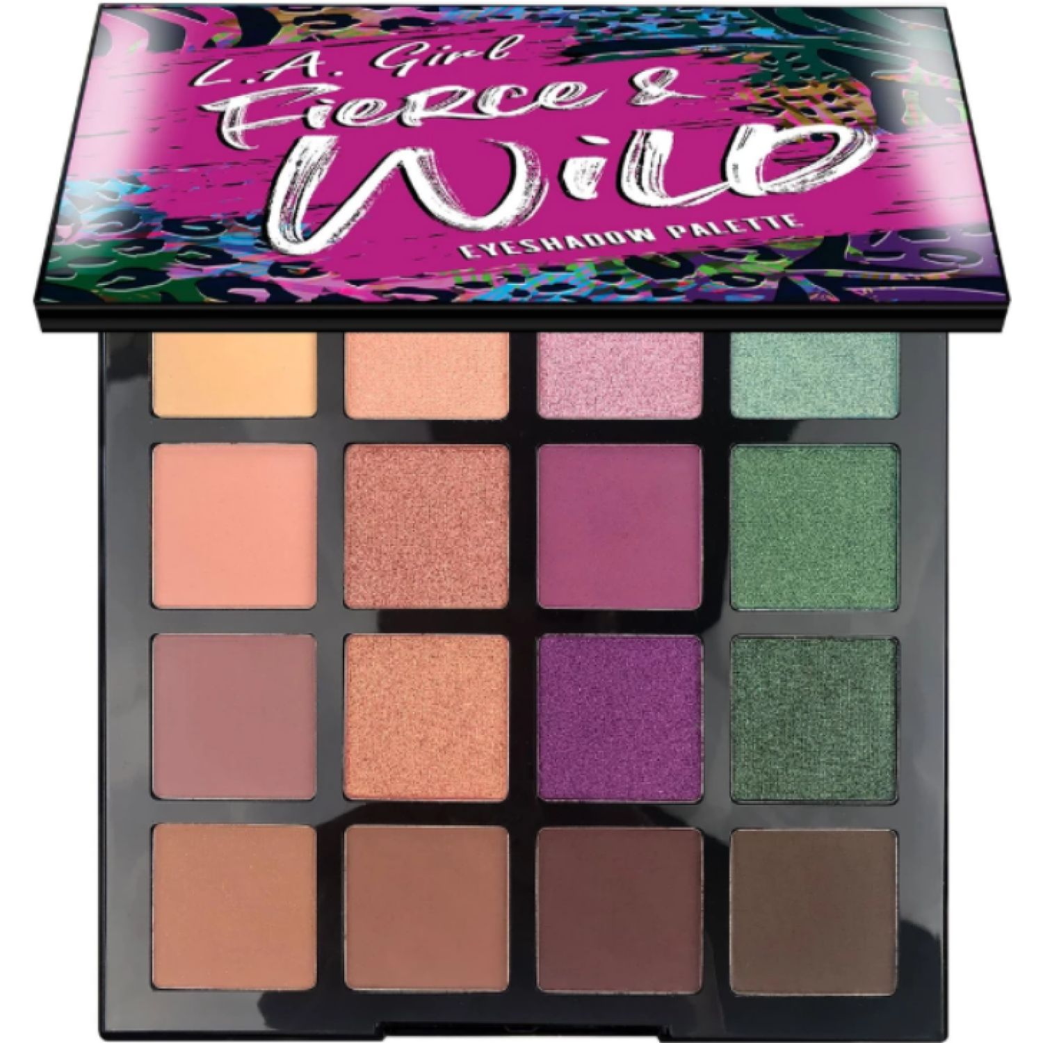 L.a. Girl Fierce & Wild  Eye Shadow Palette UNTAMED Sombras para Ojos