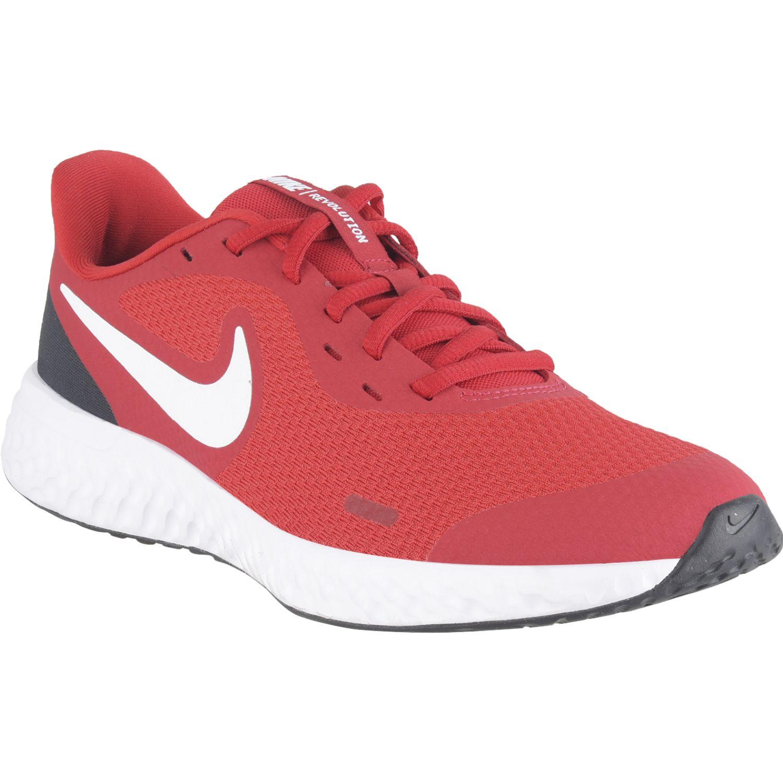 Nike Nike Revolution 5 Gs Rojo Para caminar