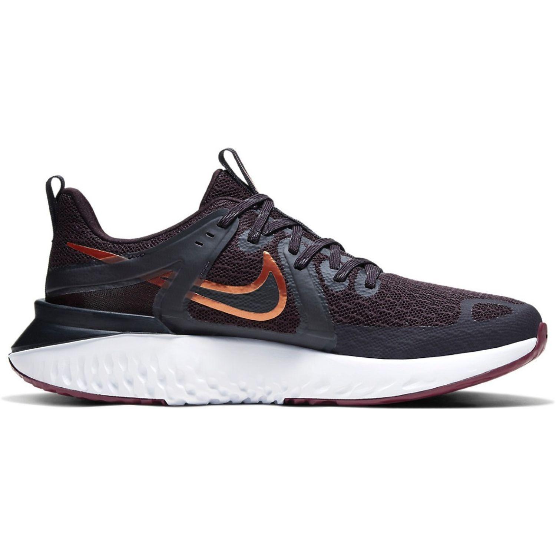 Nike WMNS NIKE LEGEND REACT 2 Morado / negro Trail Running