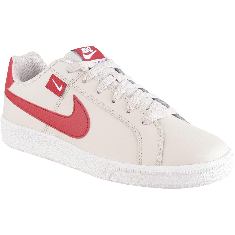 Nike Nike Court Royale Tab Blanco / rojo Tennisy deportes con raqueta