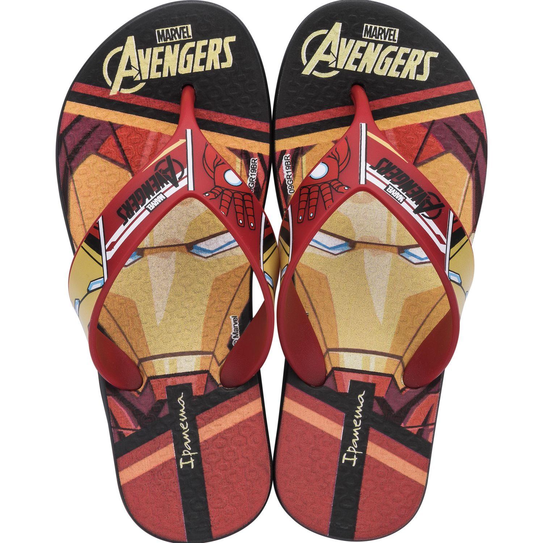 Avengers Ipanema Avengers Infinity Rojo / amarillo Sandalias