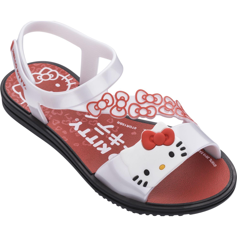 Hello Kitty pop sandal kd Blanco / rojo Sandalias