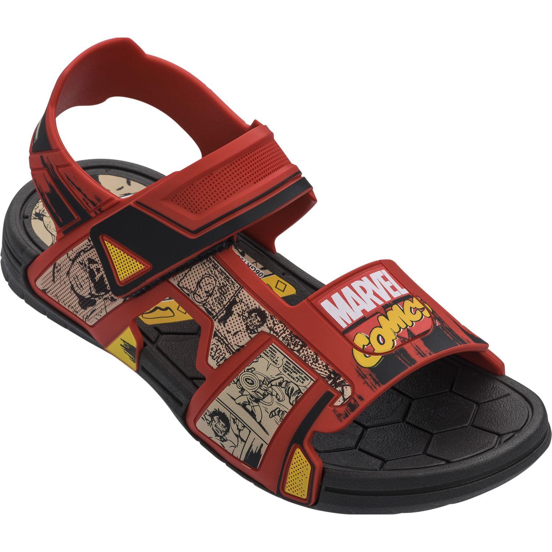 Avengers challenge sandal Rojo / negro Sandalias