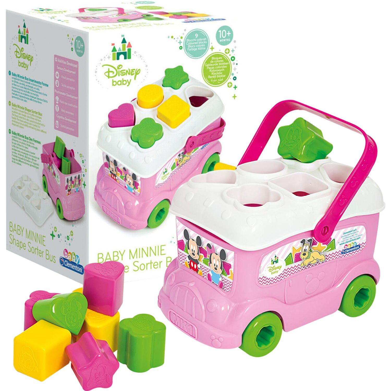 Minnie Autobus Con Piezas Para Encajar Minnie Varios Formas y colores