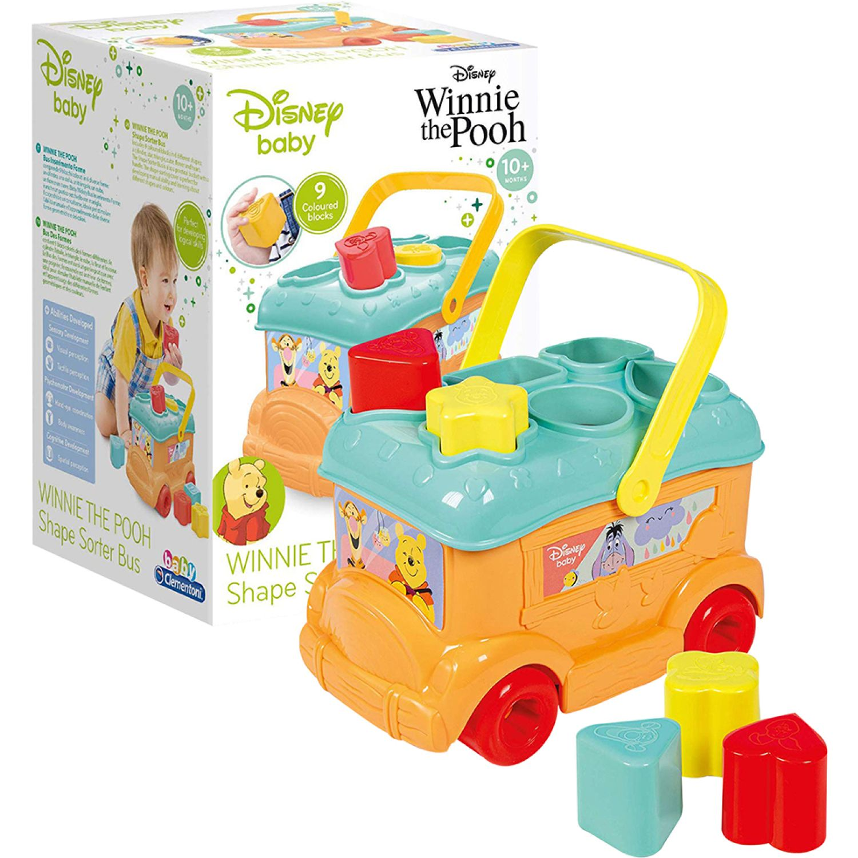 Winnie The Pooh Autobus Con Piezas Para Encajar Winnie Varios Formas y colores