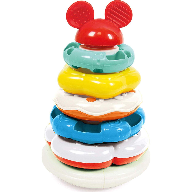 Mickey ANILLOS APILABLES, MULTICOLOR Varios Apilamiento y la jerarquización de los juguetes