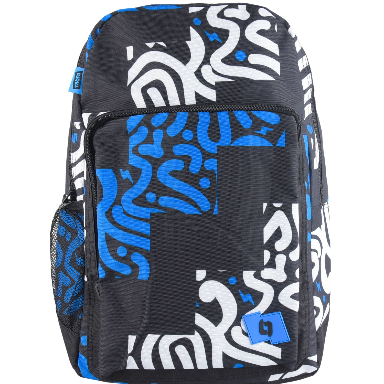 TROPA Singular Negro / azul Mochilas