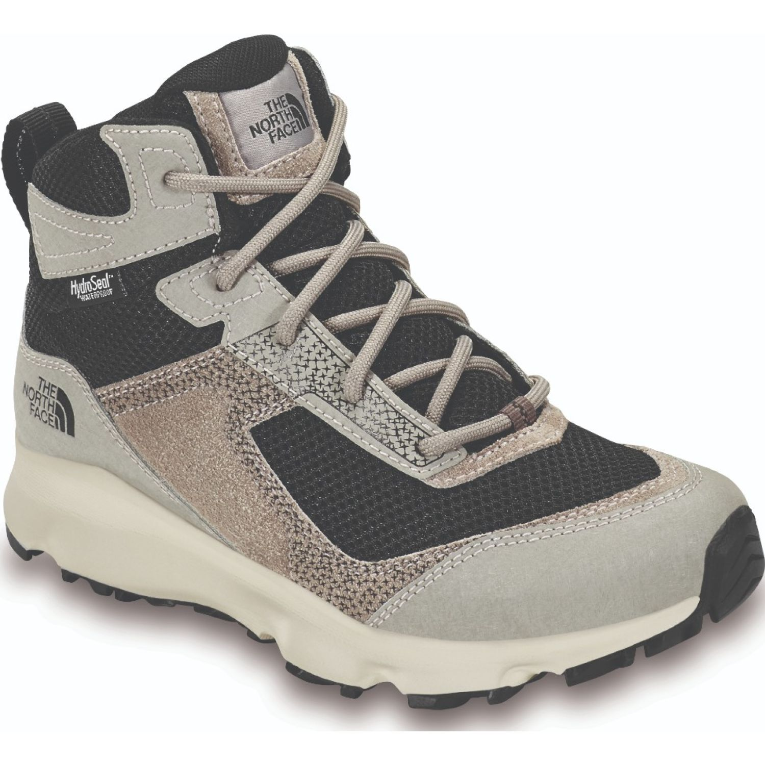 The North Face Jr Hedgehog Hiker Ii Mid Wp NEGRO / GRIS Zapatos de senderismo