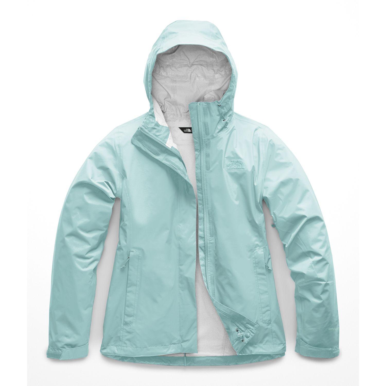 The North Face W VENTURE 2 JACKET Aqua Impermeables y chaquetas