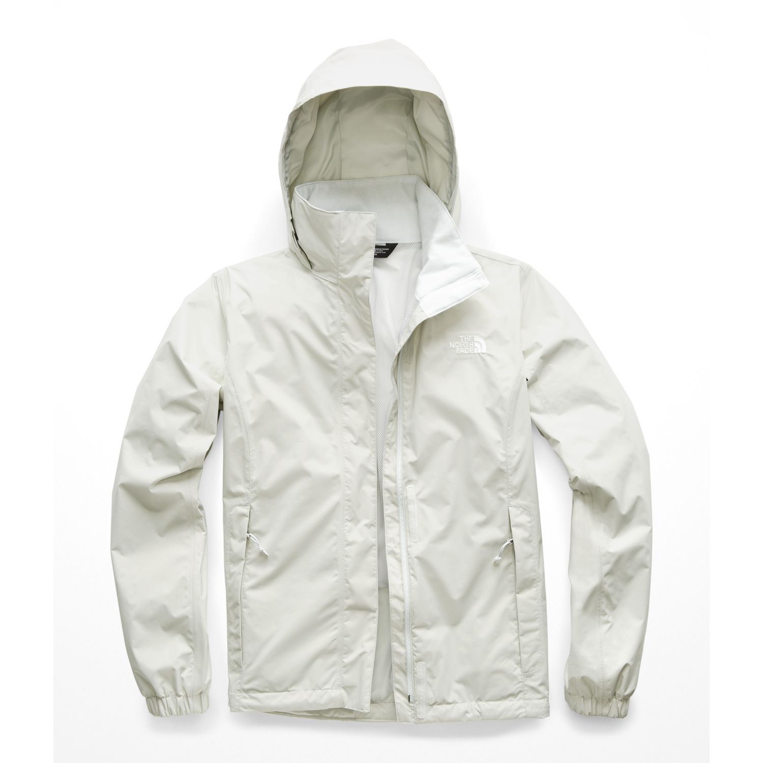 The North Face W RESOLVE 2 JACKET GRIS CLARO Impermeables y chaquetas