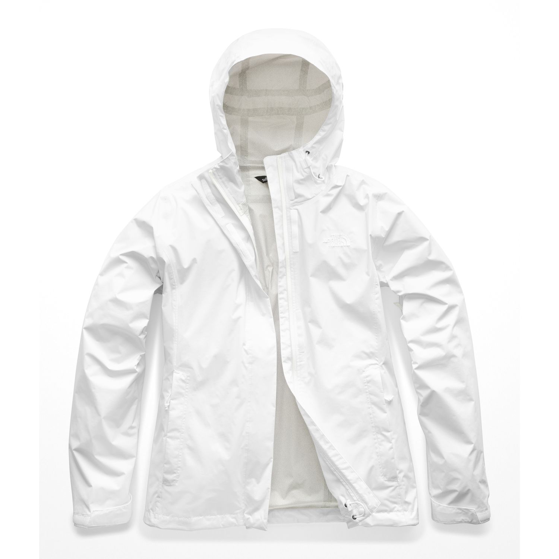 The North Face W VENTURE 2 JACKET Blanco Impermeables y chaquetas