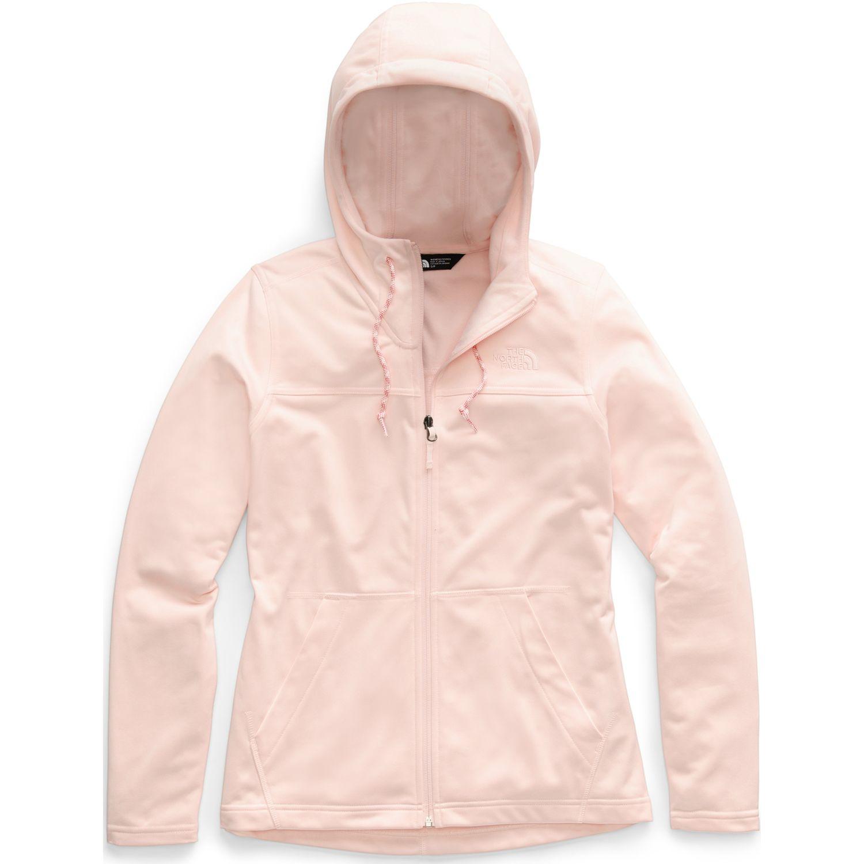 The North Face w tech mezzaluna hoodie Rosado Hoodies Deportivos