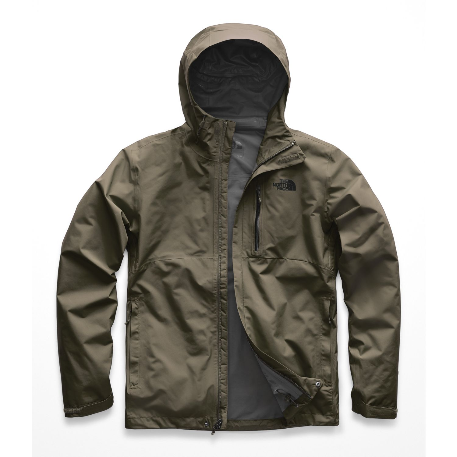 The North Face M DRYZZLE JACKET Olivo Impermeables y chaquetas