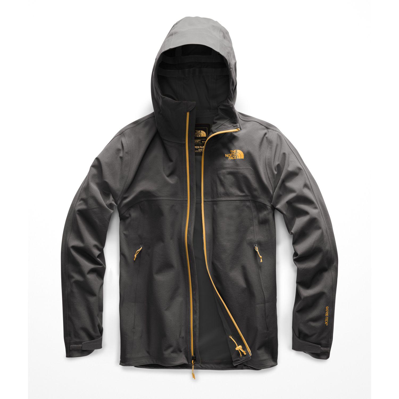 The North Face M Apex Flex Gtx 3.0 Jacket Negro / naranja Impermeables y chaquetas