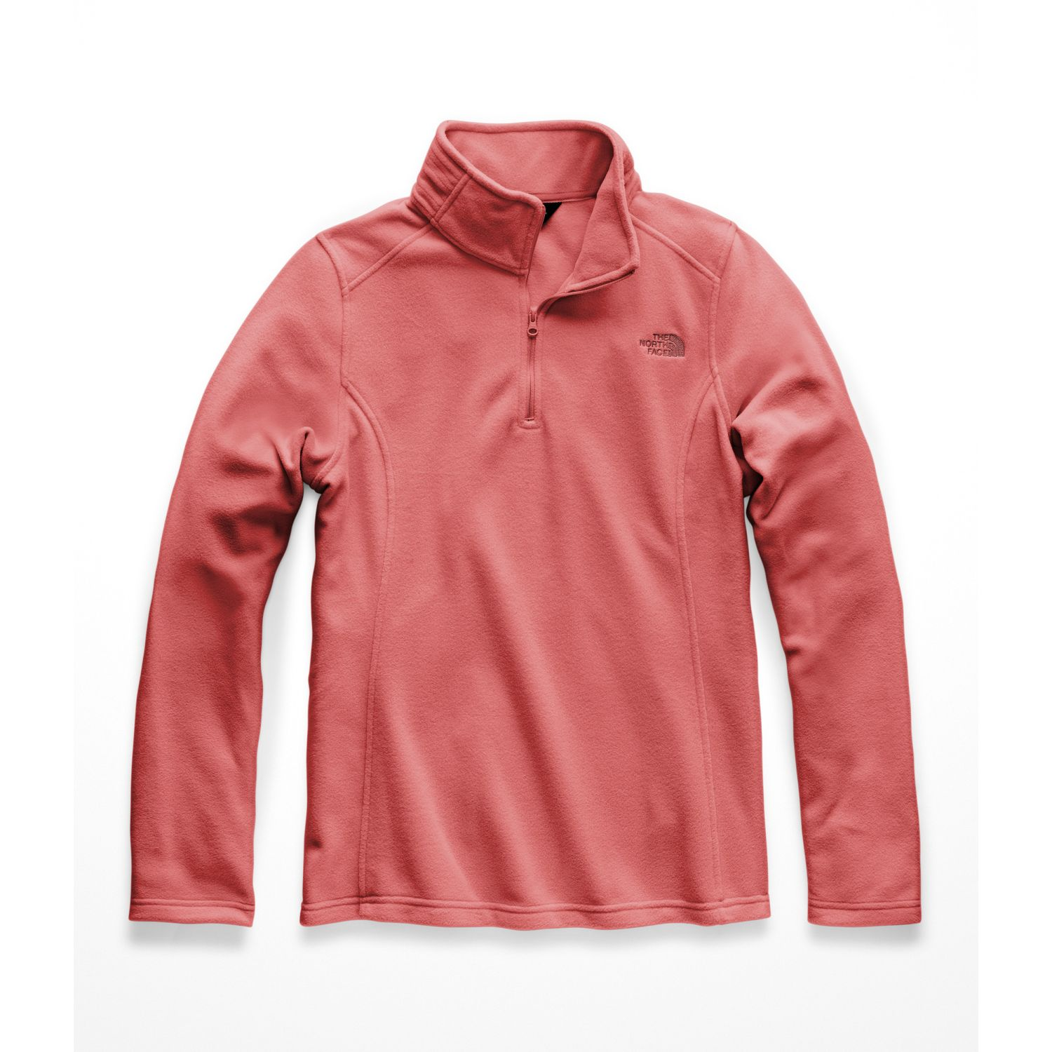 The North Face w glacier 1/4 zip Coral Pullovers