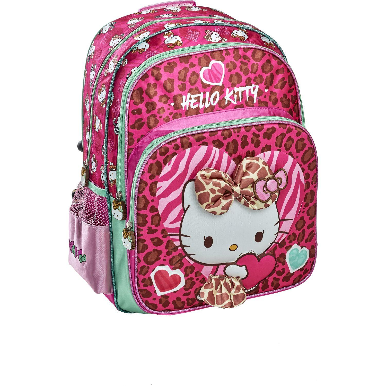 Hello Kitty 20 SCOOL P HELLO KITTY MOCH EVA 3D Rosado mochilas