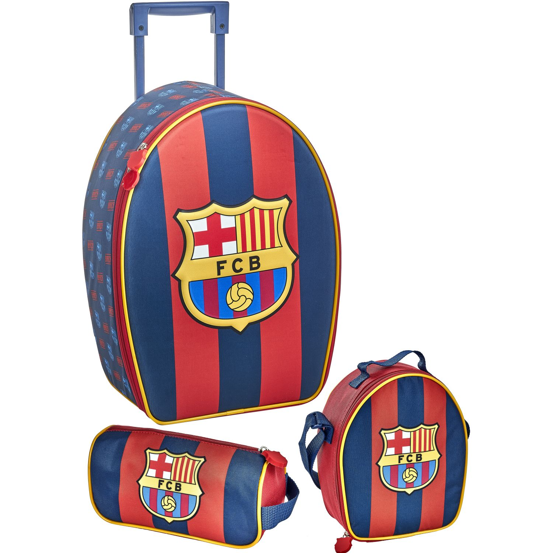 Barcelona 20 SCOOL BARCELONA SET RANGER_A 3D Azul / rojo mochilas