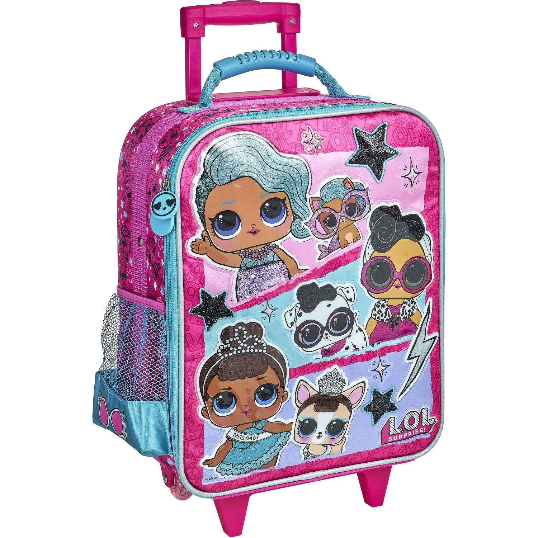 LOL 20 scool p lol maleta t c/pvc gde Fucsia mochilas