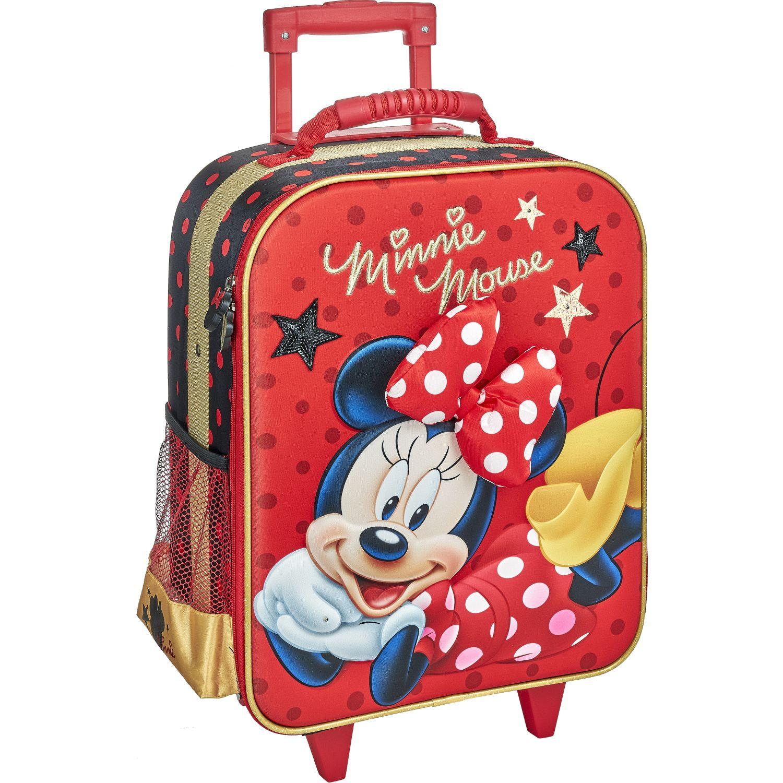 Minnie 20 SCOOL P MINNIE ROJA MALETA EVA 3D Rojo / negro mochilas