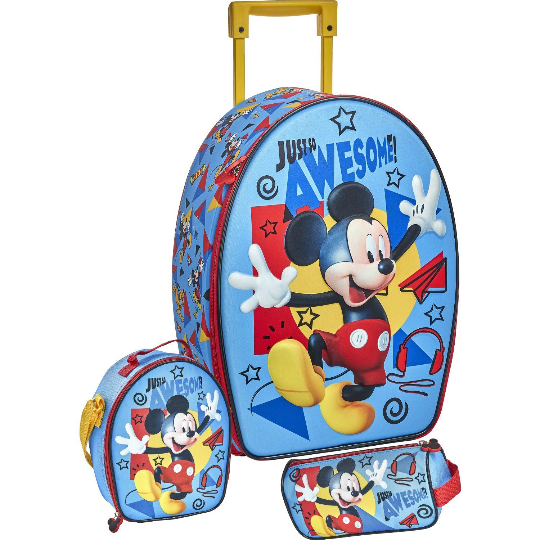 Mickey 20 SCOOL MICKEY SET RANGER_B 3D Azul mochilas