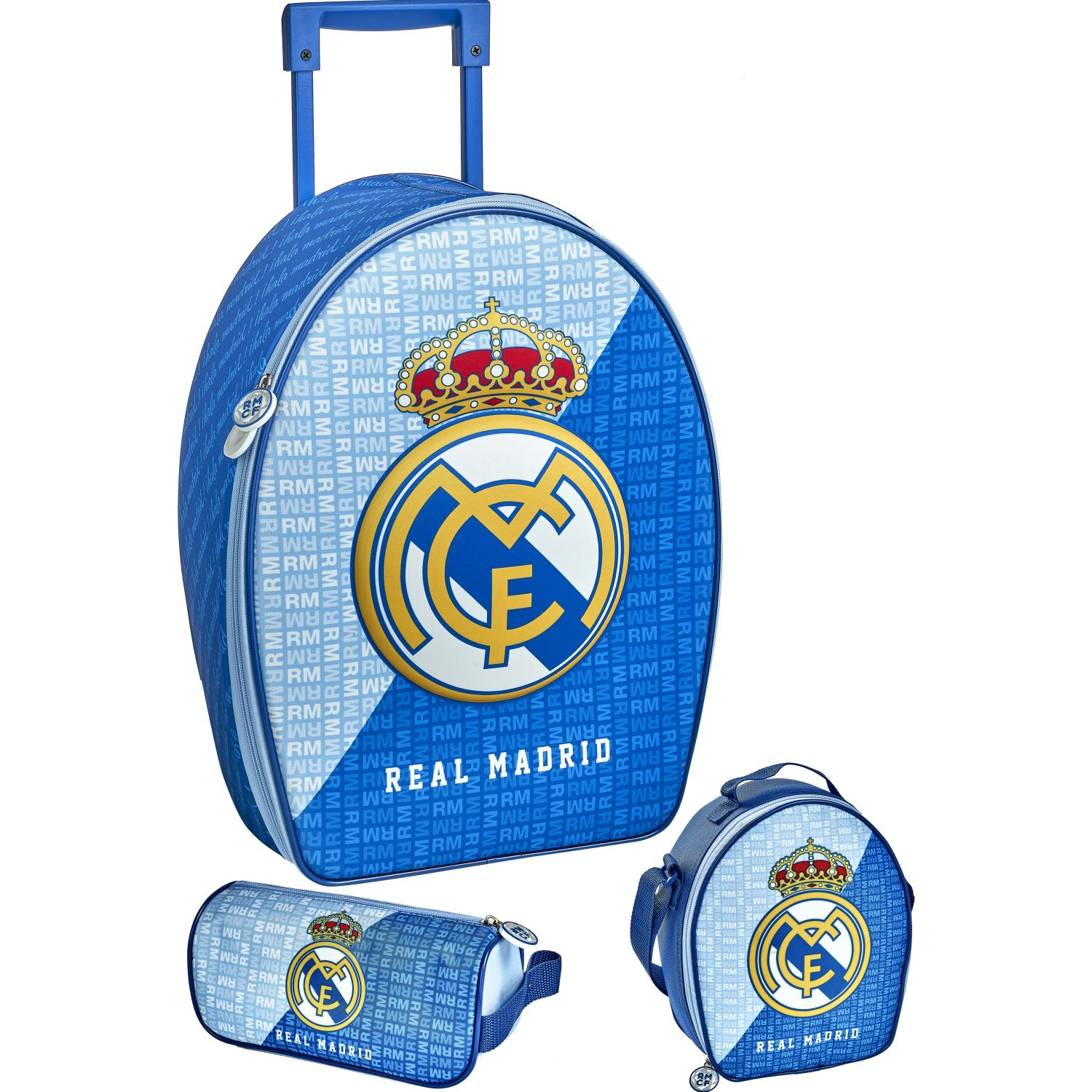 REAL MADRID 20 SCOOL REAL MADRID SET RANGER 3D Azul / celeste mochilas