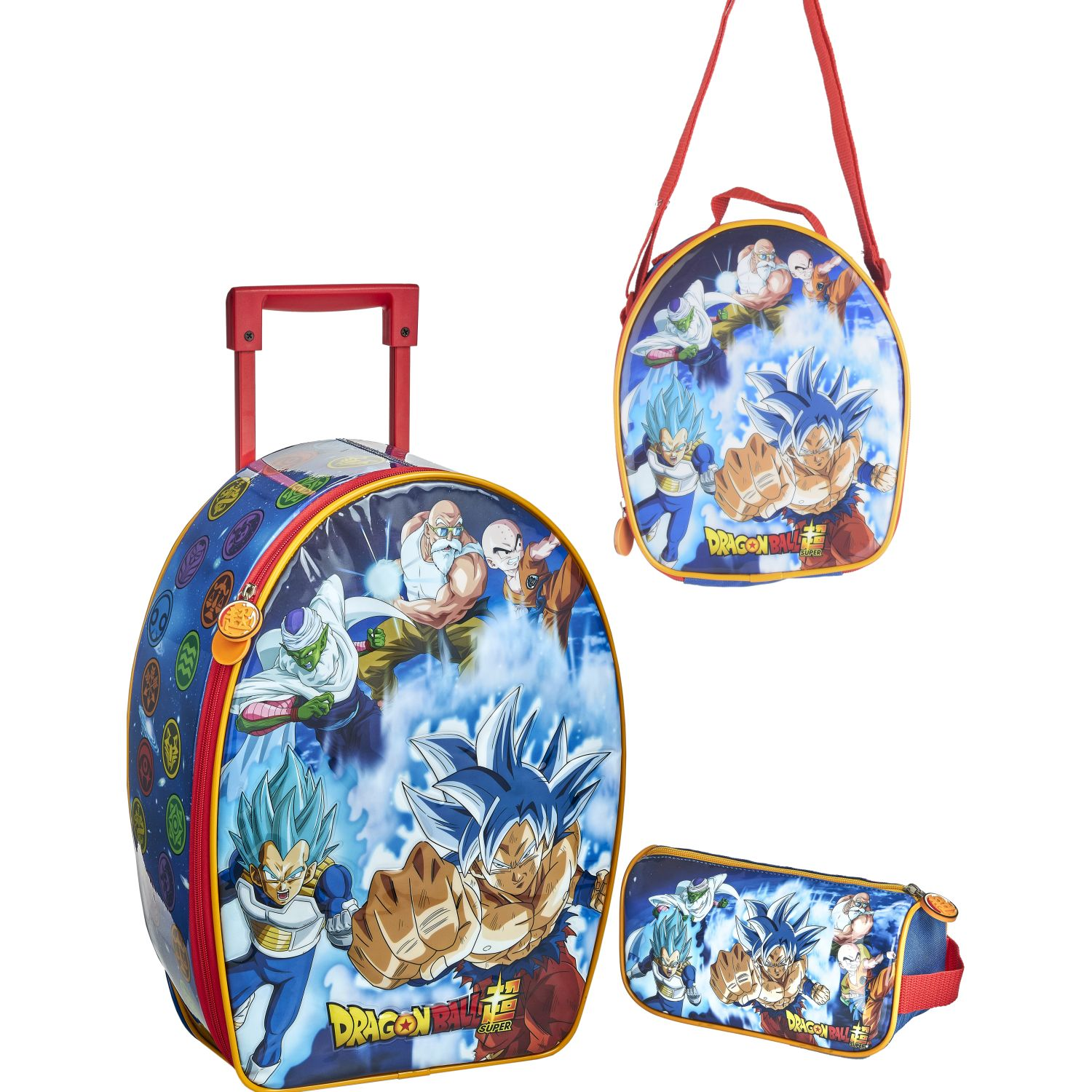 DRAGON BALL 20 SCOOL DRAGON BALL SET RANGER_A PVC Azul / naranja mochilas