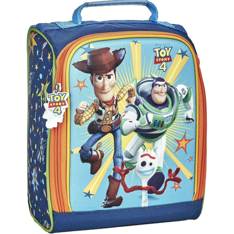 Toy Story 20 Scool P Toy Story Lonch Eva 3d Bol Celeste / verde Loncheras