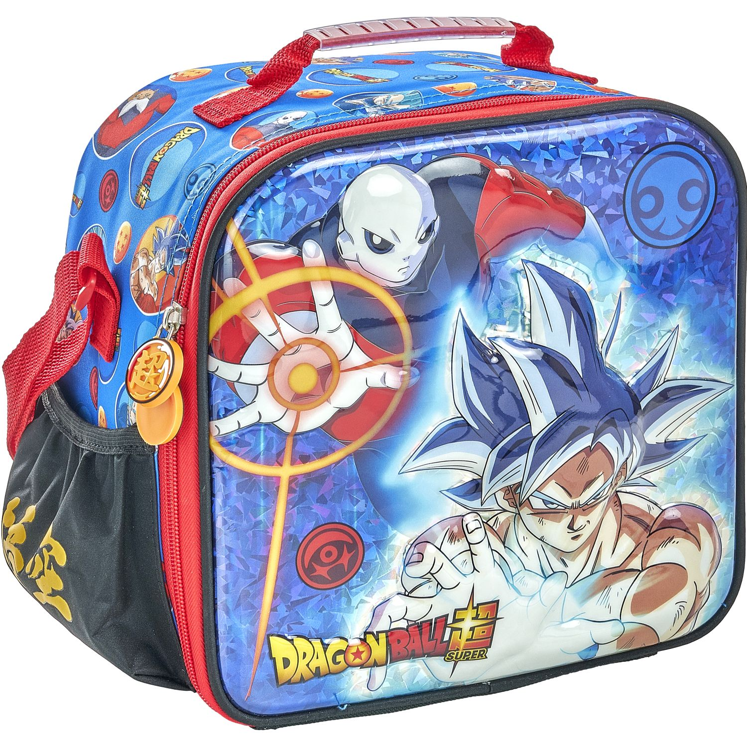 DRAGON BALL 20 Scool Dragon Ball Lonch Eva 6d New Azul / rojo Loncheras