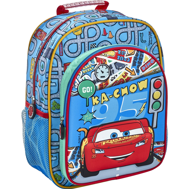 Cars 20 scool cars moch kids 3d Azul / rojo mochilas