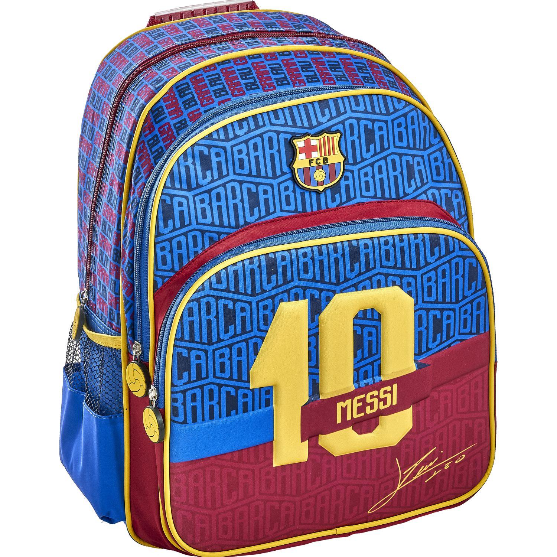 Barcelona 20 scool barcelona moch eva 3d 3bol Azul / amarillo mochilas
