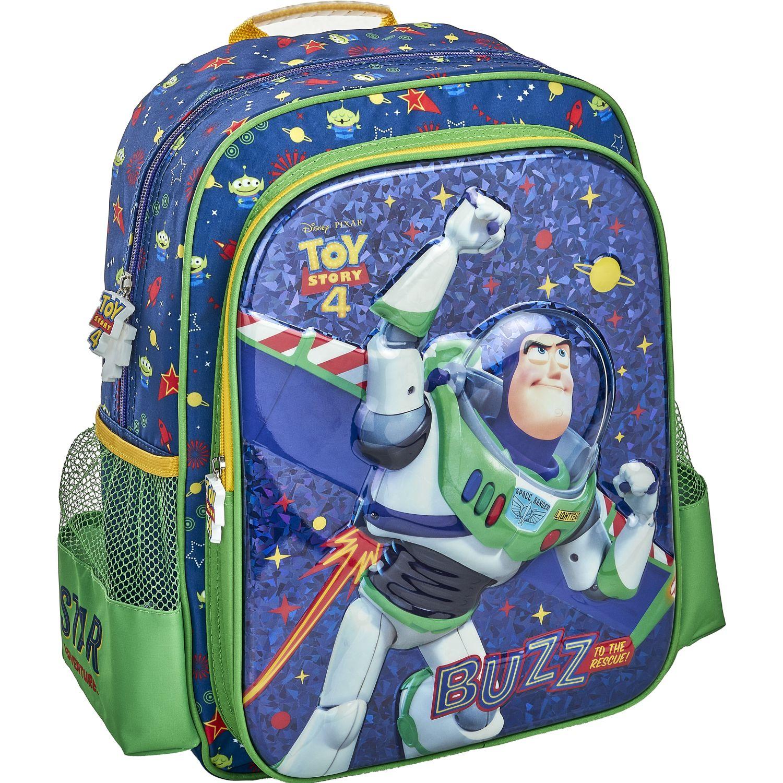 Toy Story 20 scool toy story moch eva 6d new 2bo Azul / verde mochilas