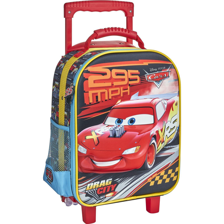 Cars 20 scool cars maleta eva 3d med Rojo / negro mochilas