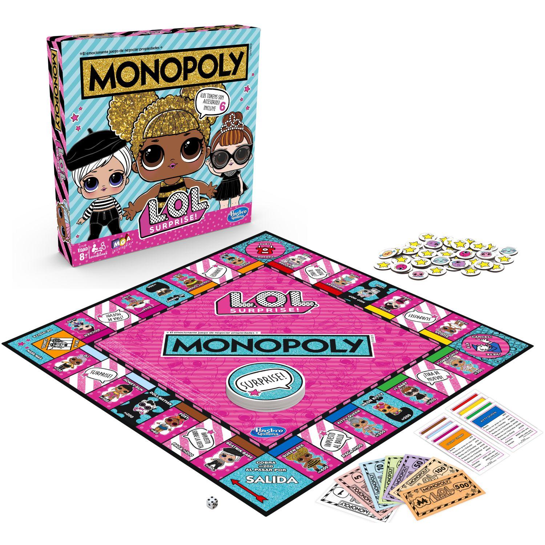 MONOPOLY MONOPOLY LOL SURPRISE Varios Juegos de mesa