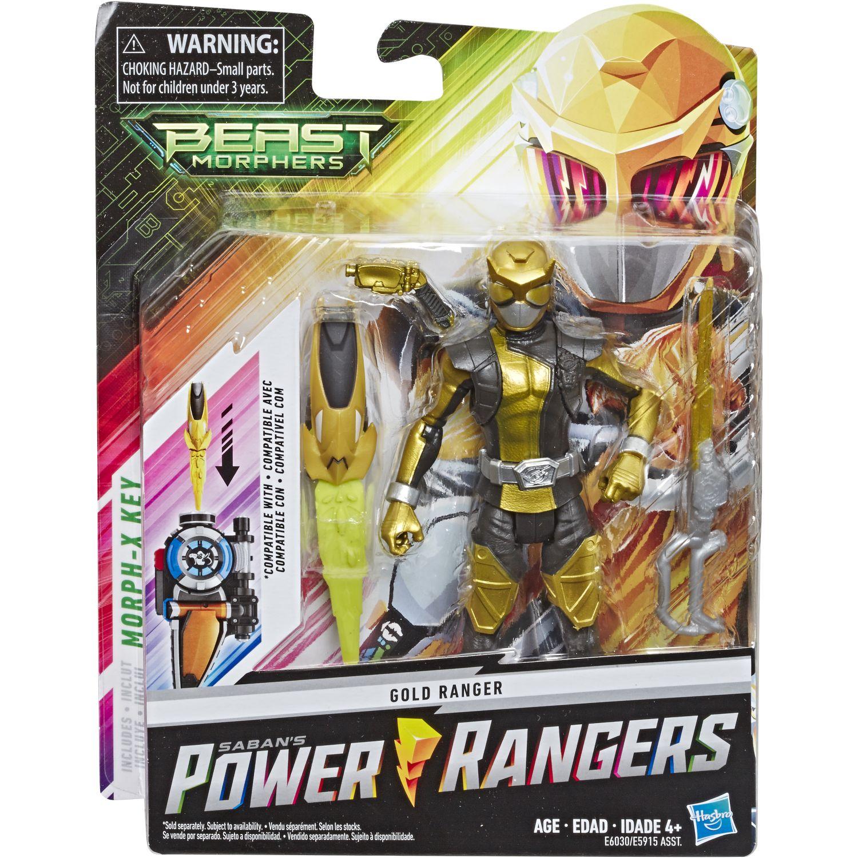POWER RANGERS Prg 6in Bmr Gold Ranger Figure Varios Figuras de acción