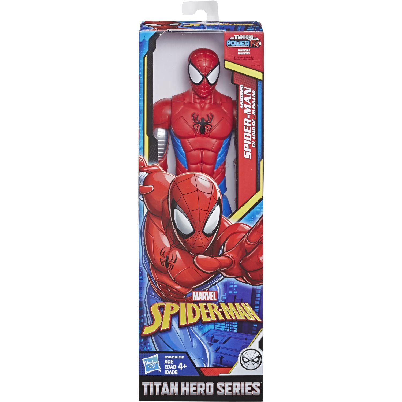 SPIDER-MAN Spd Titan Power Armored Spider Man Varios Figuras de Acción