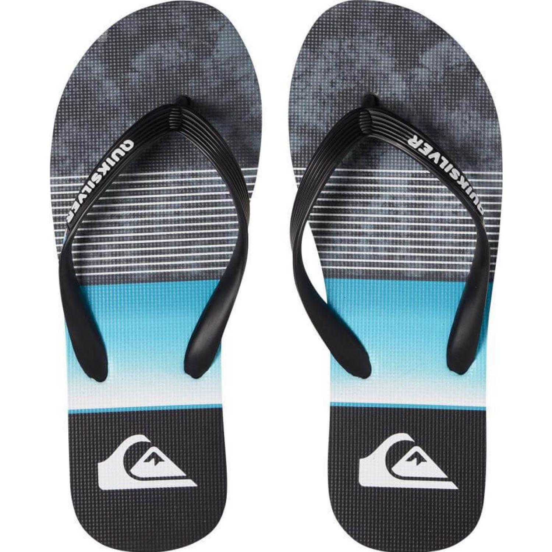 Quiksilver molokai slab Azul / negro Sandalias deportivas y slides
