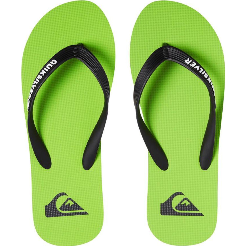 Quiksilver molokai flip-flops Verde / negro Sandalias deportivas y slides