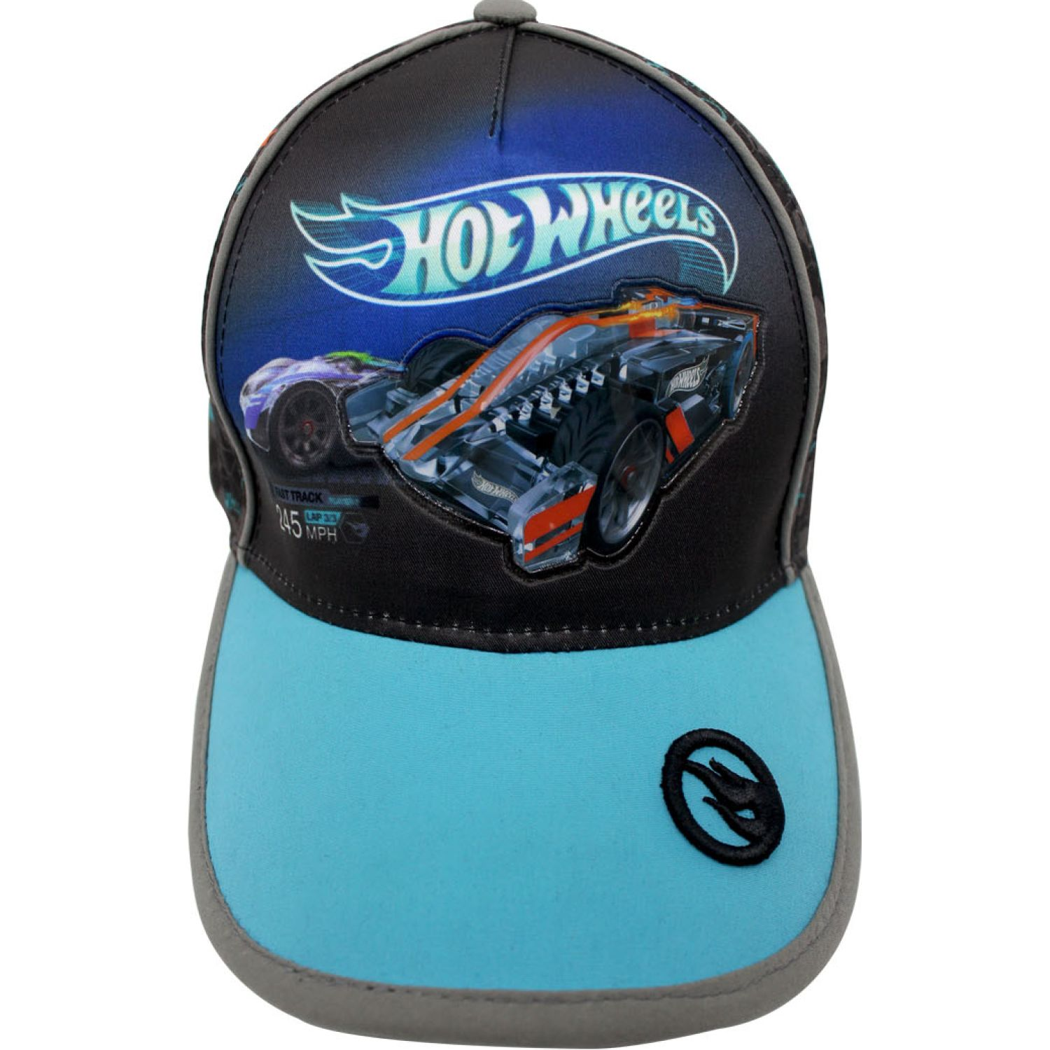 Hot Wheels gorro hot wheels Negro / celeste Sombreros y Gorros