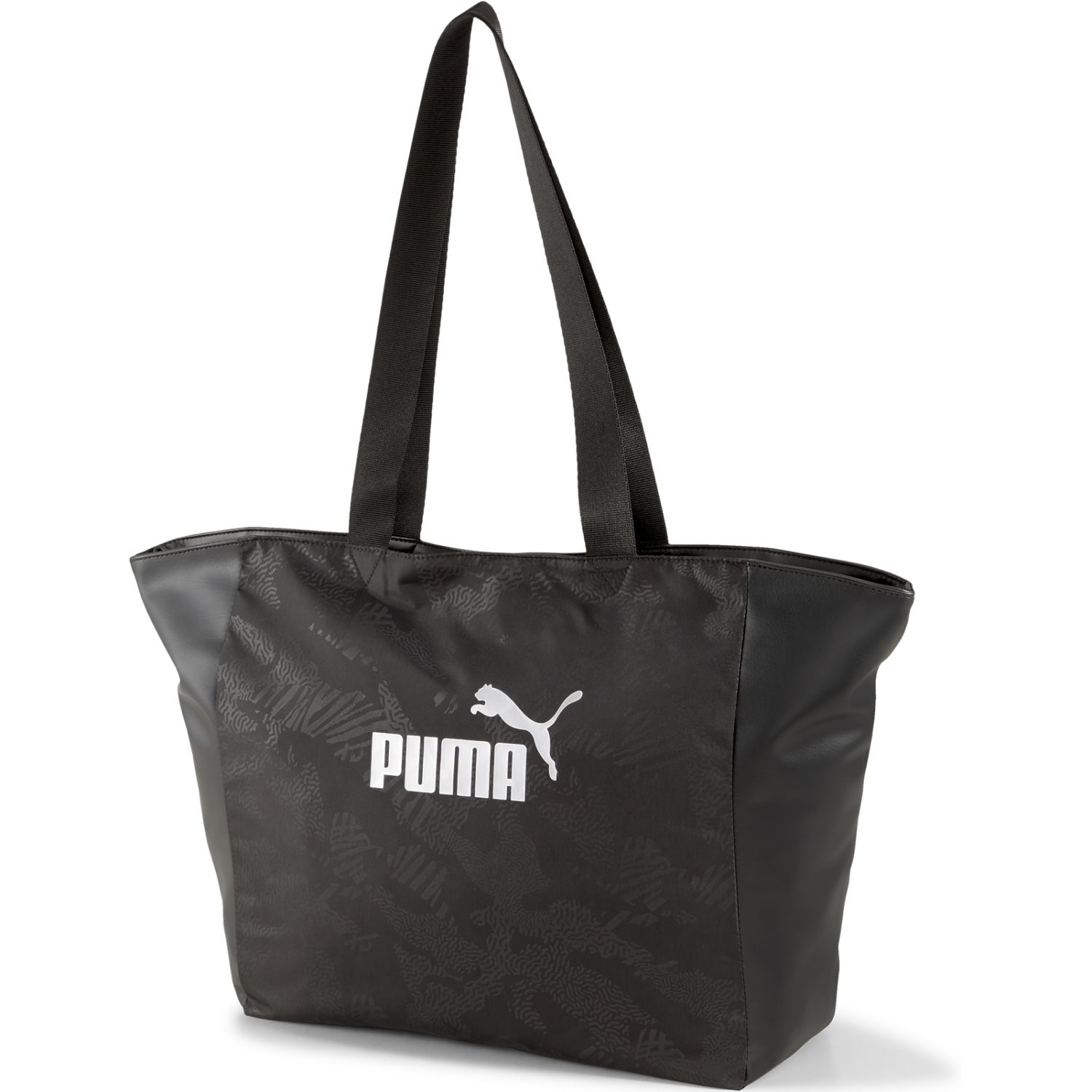 Puma wmn core up large shopper Negro bolsos de lazo