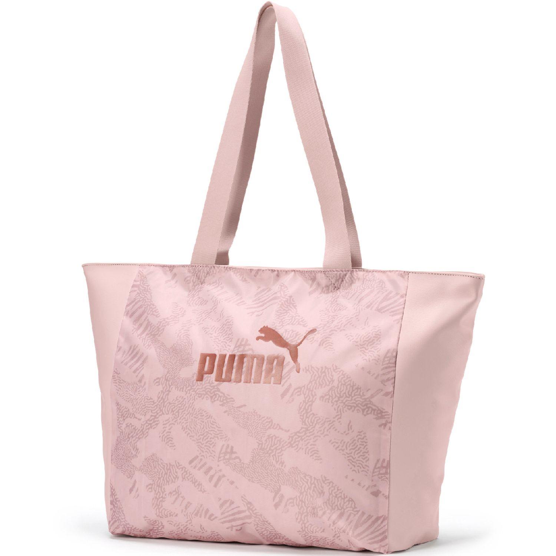 Puma wmn core up large shopper Rosado bolsos de lazo
