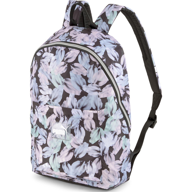 Puma Wmn Core Seasonal Daypack Celeste / negro Mochilas multipropósitos