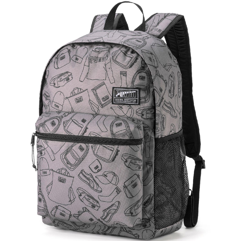 Puma Puma Academy Backpack Gris / rosado Mochilas multipropósitos