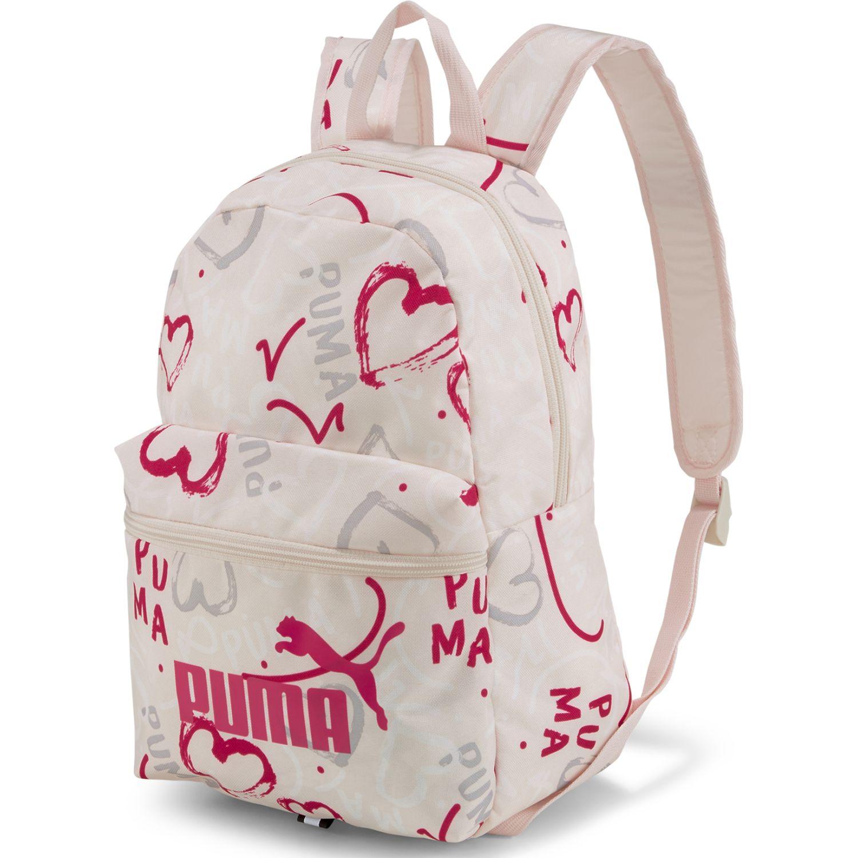 Puma puma phase small backpack Rosado / blanco Mochilas Multipropósitos