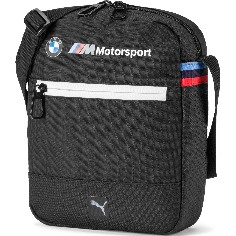 Puma BMW M LS Portable Negro Bolsos tipo Mensajero