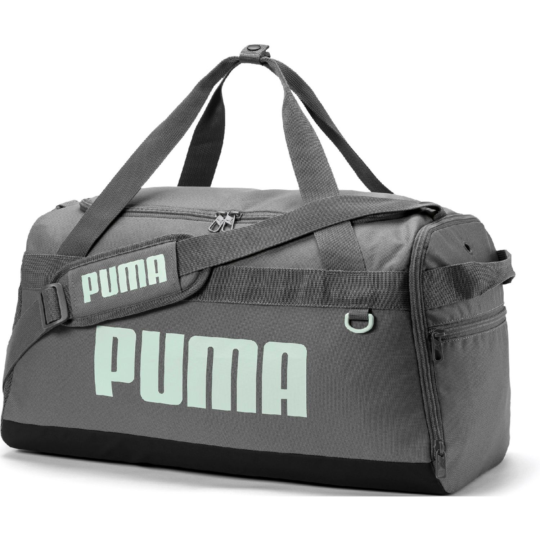 Puma PUMA Challenger Duffel Bag S PLOMO / BLANCO Bolsos de gimnasio