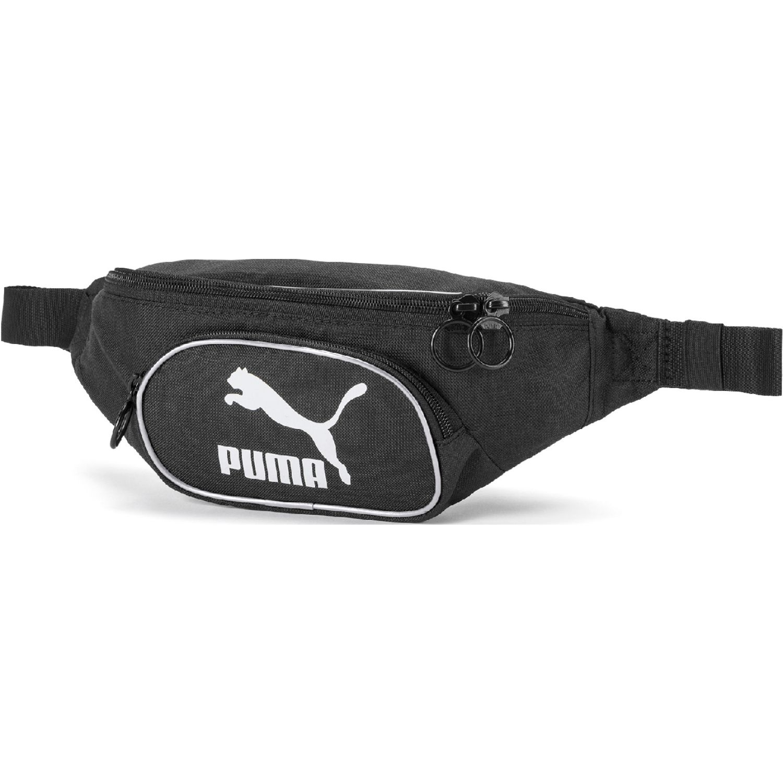 Puma originals bum bag woven Negro Canguros