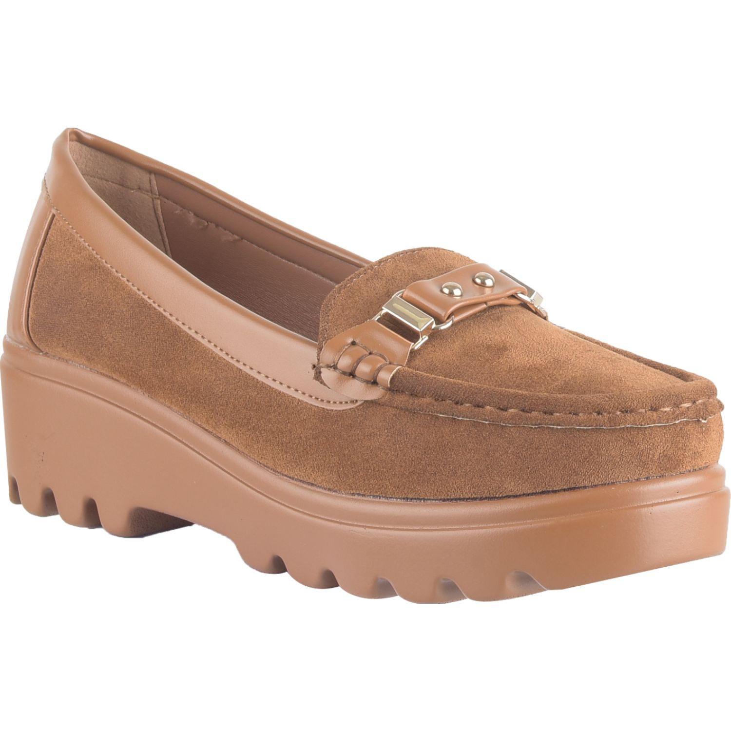 Platanitos M 3048 Marron Mocasines y Slip-Ons