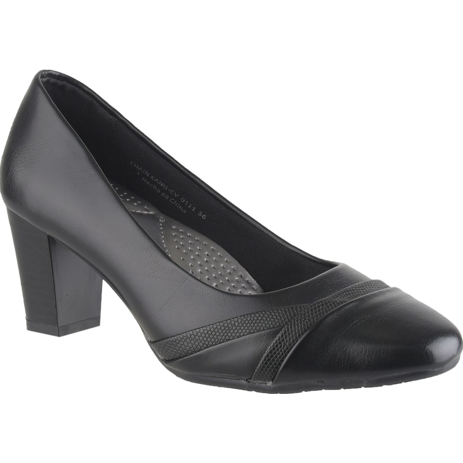 Platanitos Cv 0111 Negro Estiletos y pumps
