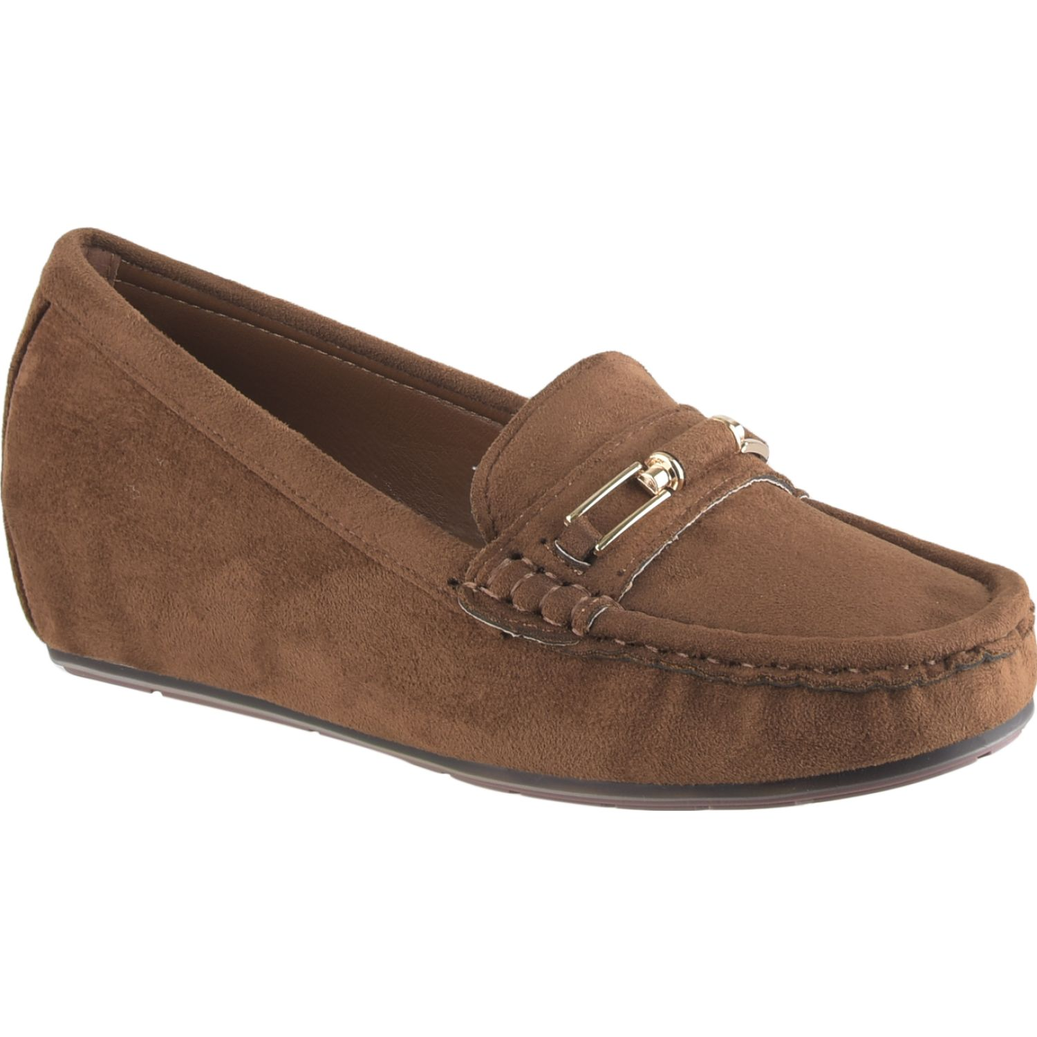 Platanitos MW 126 Marron Mocasines y Slip-Ons