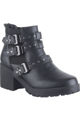 Platanitos Negro de Mujer modelo BTP 025